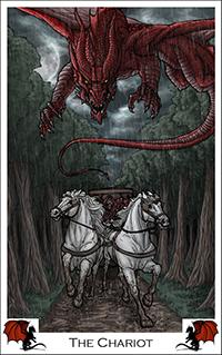 chariot_dragontarot