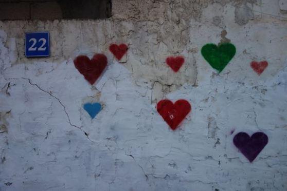 streetart - TLV - ahava