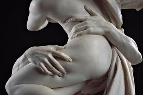 Bernini @ galleria Borghese Roma, Italy.