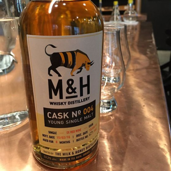 Milk & Honey Whisky - Made in Tel Aviv - Best single malt in the world.